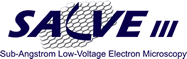 Logo: The Sub-Angstrom Low-Voltage Electron Microscopy Project