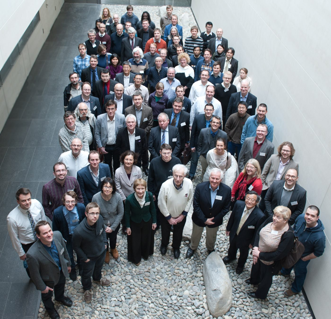 Group photo of participants of SALVE symposium 2013